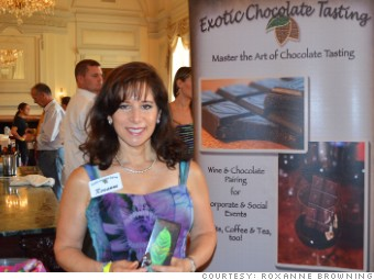 roxanne browning exotic chocolate tasting