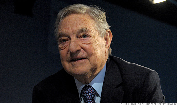 george soros gold