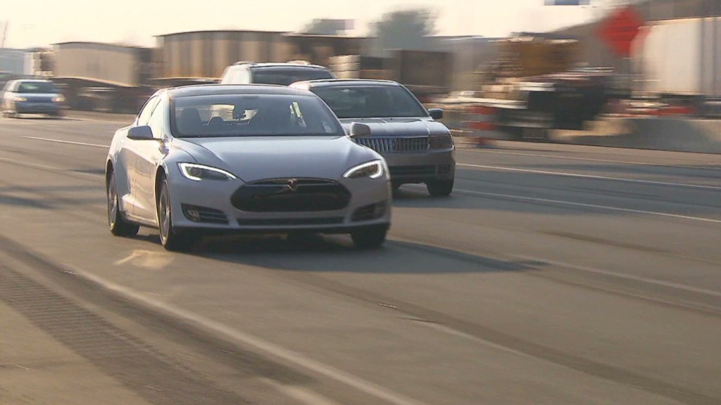 Tesla Model S: Test drive D.C. to Boston