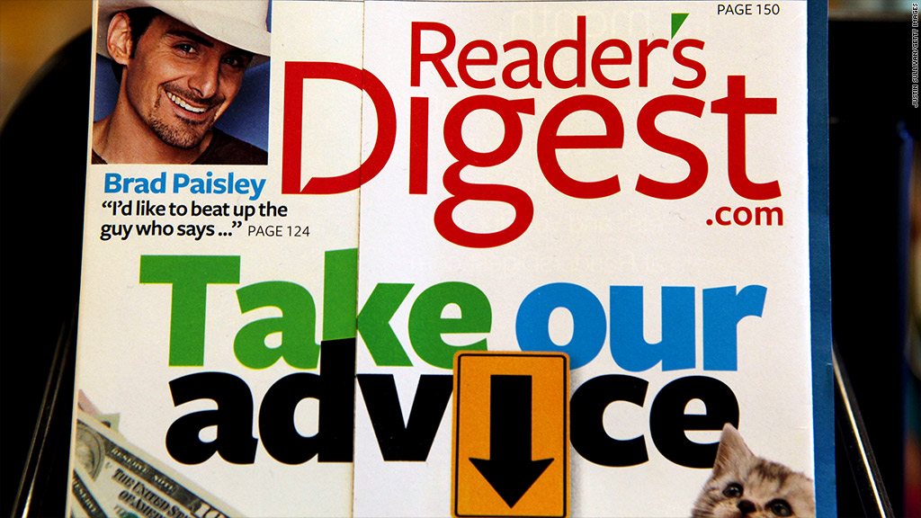 readers digest bankruptcy
