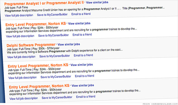 college job listings