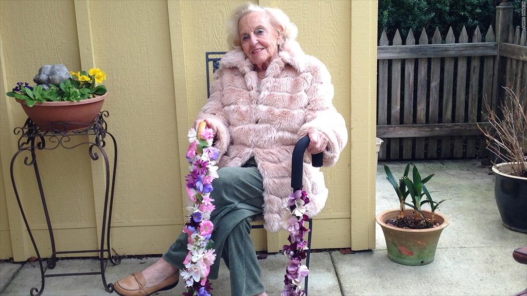 grandma pearl entrepreneur happy canes