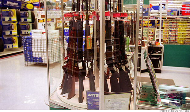 walmart guns sales