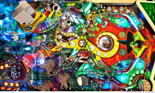 FIO25 wizard of oz pinball machine