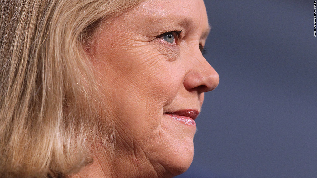 meg whitman hp earnings