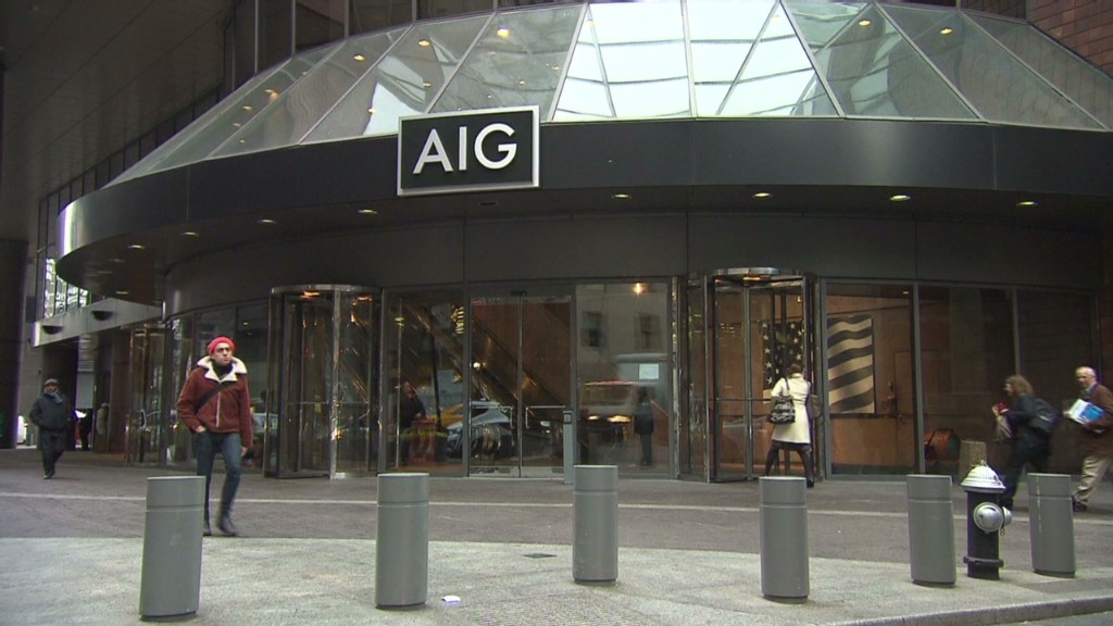 AIG is no longer cursed