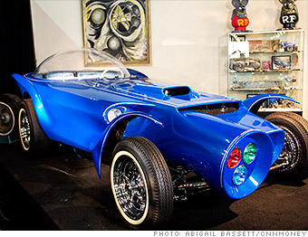 Orbitron Ed Big Daddy Roth S Real Life Cartoon Cars Cnnmoney