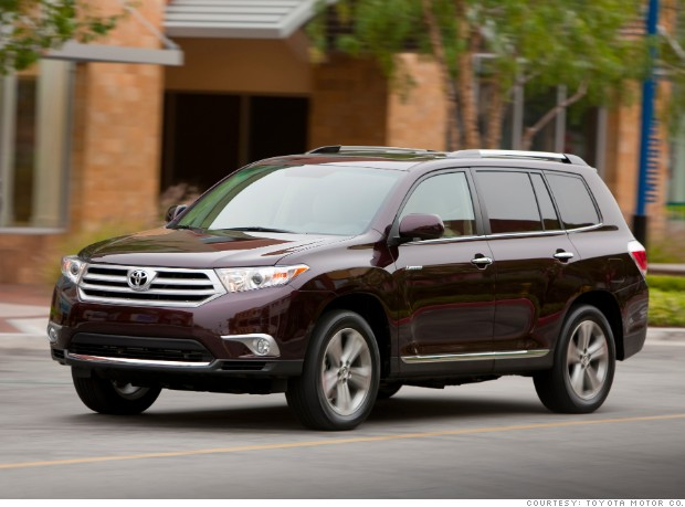 consumer reports 2013 toyota highlander