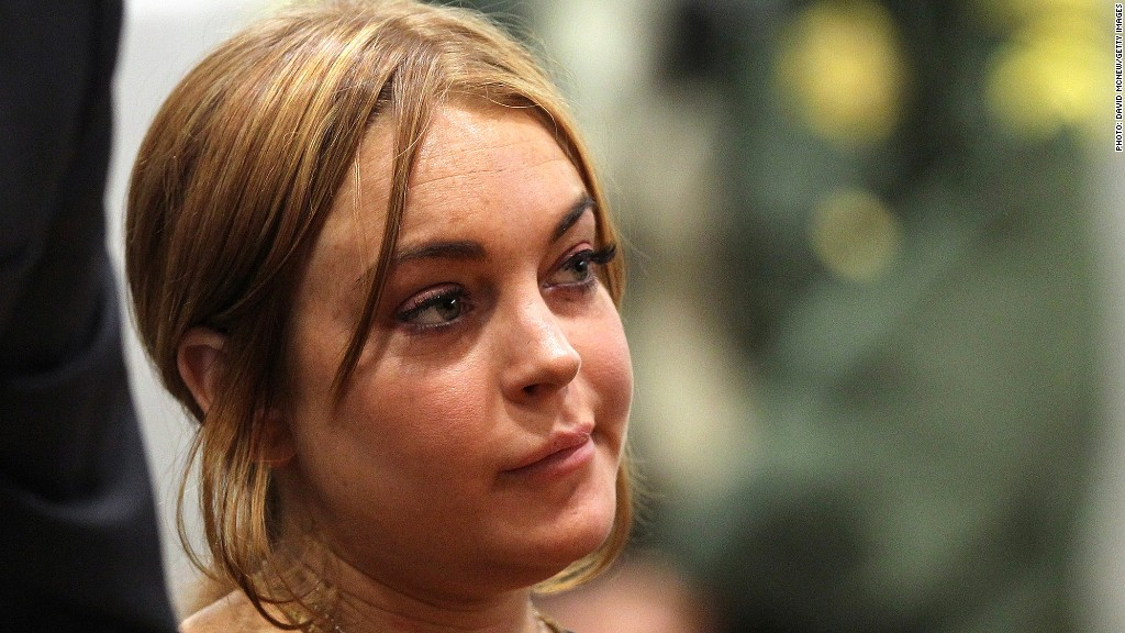 media donald trump lindsay lohan