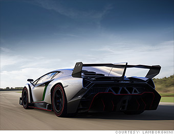 killer name lamborghini unveils 4 million car the veneno cnnmoney. Black Bedroom Furniture Sets. Home Design Ideas
