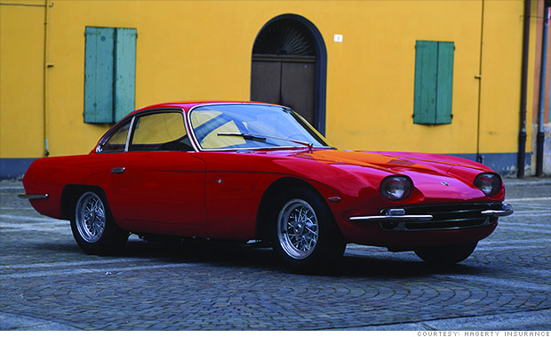 Most Valuable Collectible Lamborghinis 1964 350 Gt 6