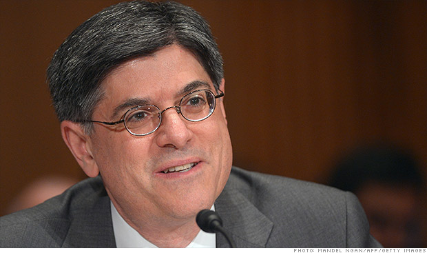 jack lew treasury secretary