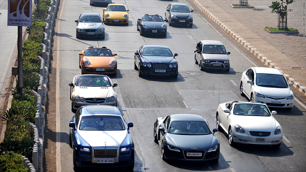 India To Tax Rich Luxury Goods Feb - Sports cars in india