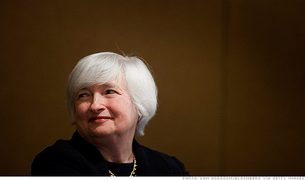 Obama to nominate Janet Yellen as Fed chair