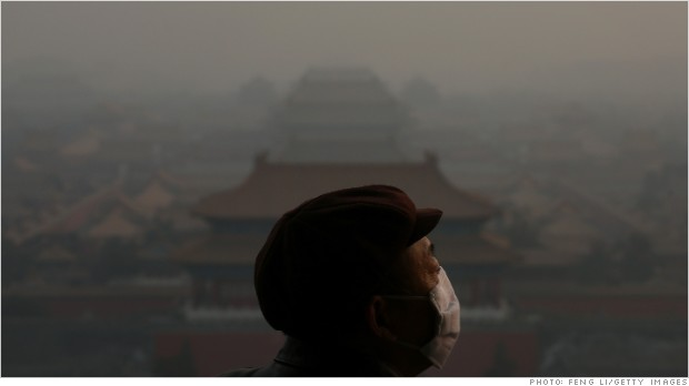 china smog