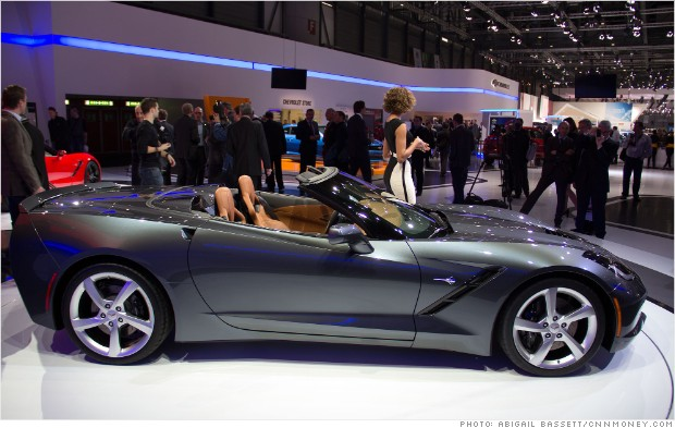 corvette stingray convertible geneva auto show