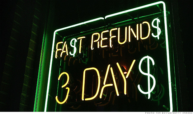 tax time refund loans