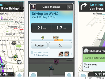 waze travel apps