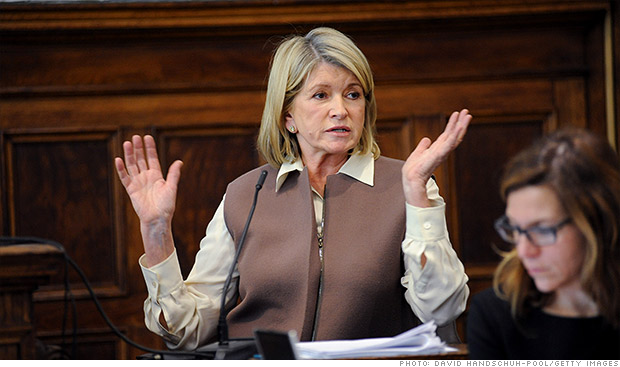 martha stewart trial