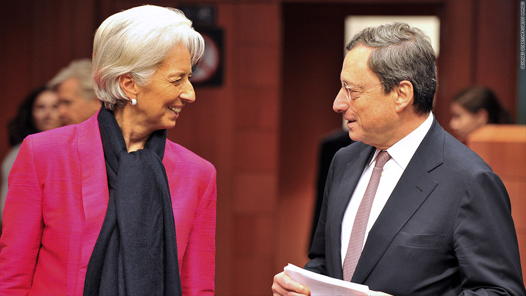 christine lagarde mario draghi