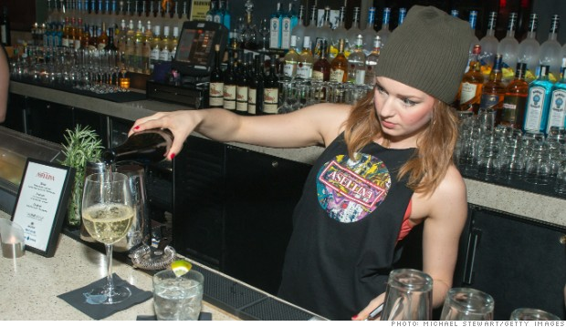 women jobs bartender