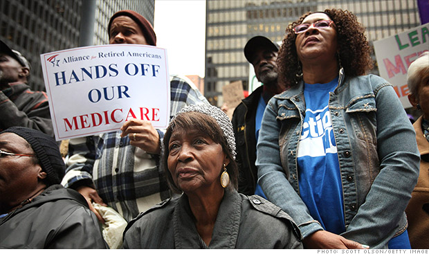 medicare protests