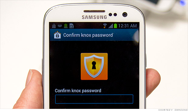samsung knox