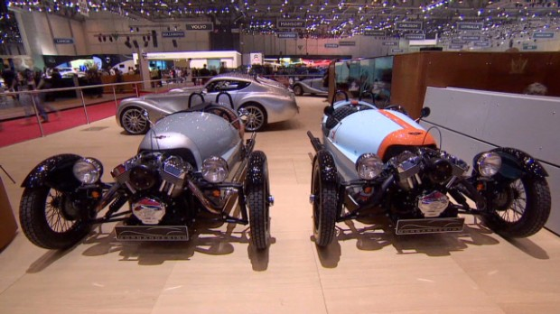 Morgan Motors' wild 3-wheel car
