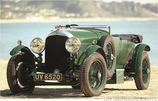 1928 bentley le mans tourer amelia island rm auctions