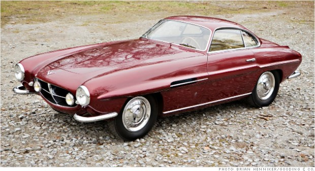 1953 fiat 8v supersonic amelia island rm auctions