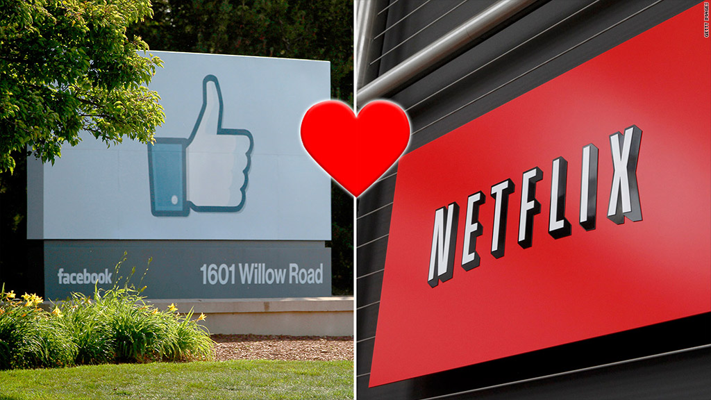 facebook netflix partnership