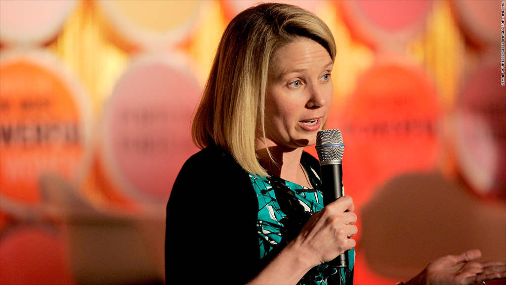 marissa mayer telecommuting