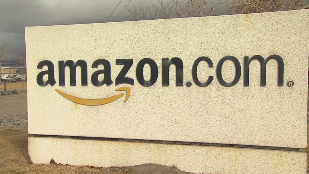 Amazon the next Apple? Investors hope not