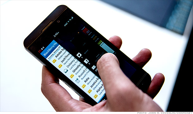 BlackBerry sells 1 million Z10 phones, posts surprise earnings