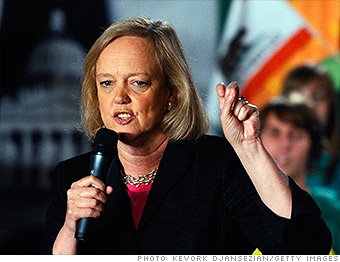 top tech ceos meg whitman hp