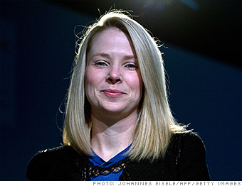 top tech ceos marissa mayer yahoo