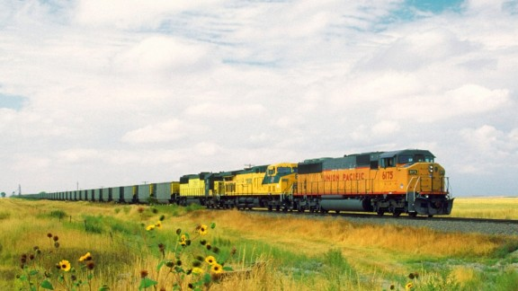 Why this railroad stock is tied to Donald Trump