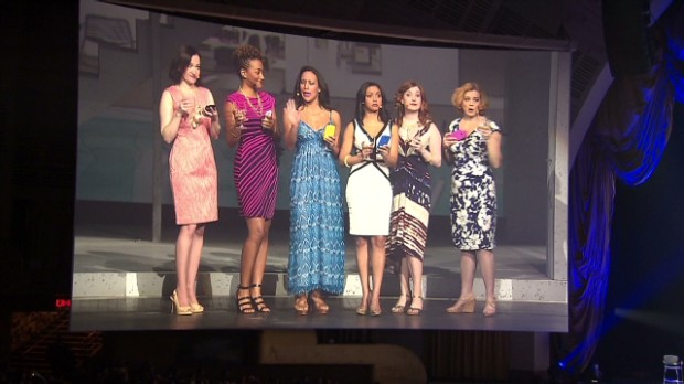 Samsung's slightly sexist S4 event
