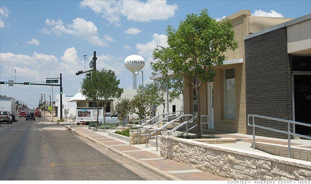 America's Biggest Boomtown - CNNMoney Andrews Tx