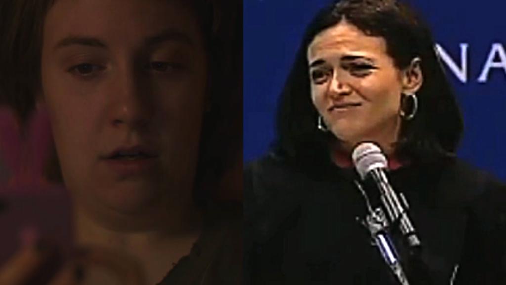 'Girls' finale, Sheryl Sandberg mash up