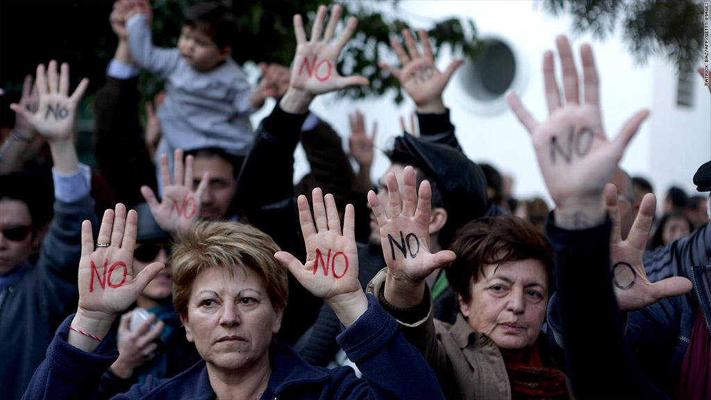 cyprus protests no