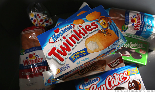 twinkies wonder bread