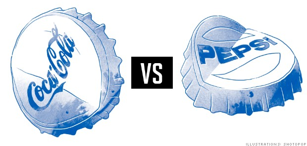 Why is the battle between coke and pepsi two ultimately similar