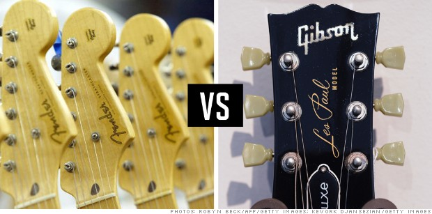 rivalries fender gibson