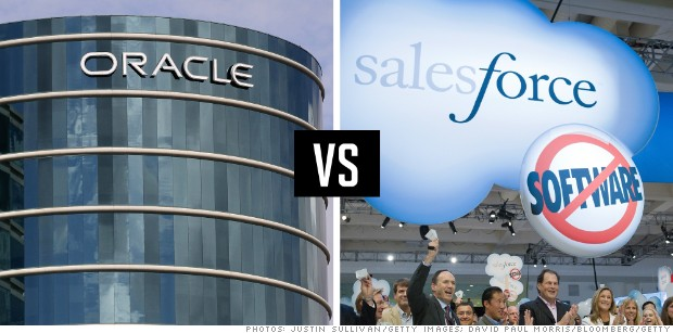 rivalries oracle salesforce