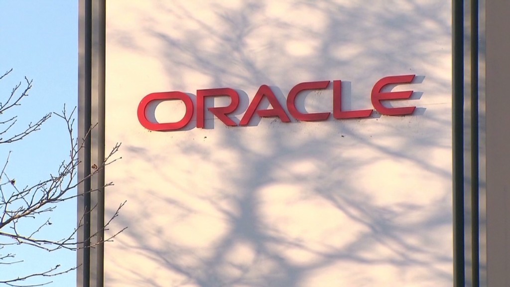 Larry Ellison takes a hit as Oracle sinks