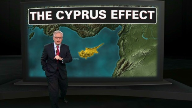 What in the world is happening in Cyprus?