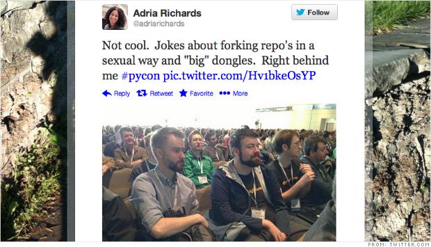 sexism startups tweet