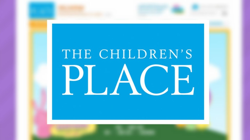 Children's Place needs a time-out