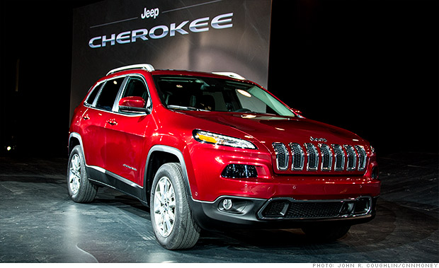 jeep cherokee new wheels from the new york auto show. Black Bedroom Furniture Sets. Home Design Ideas